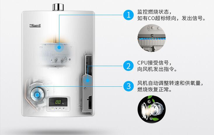 林内强排式热水器 JSQ31-H04维修